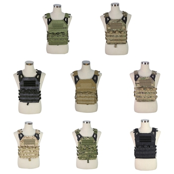 Adjustable Tactical Vest Molle Vest Outdoor Hunting Airsoft Paintball Molle Vest With Protective Vest Sportswear For CS Game
