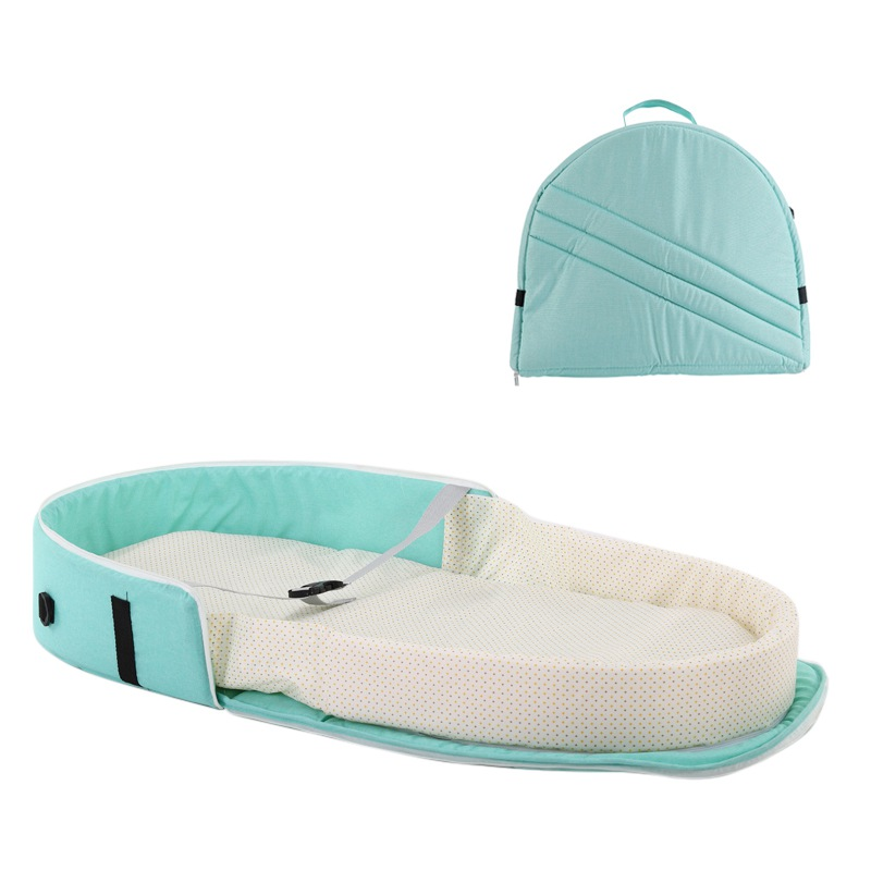 Foldable Baby Bed Travel Indoor Backpack Bed Breathable Infant Sleeping Basket Portable Baby Bed