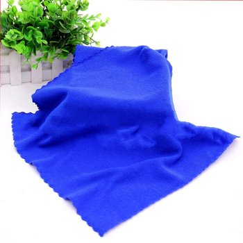1 pcs cleaning towel Soft Cloths towels Cleaning Duster Microfiber Car Wash Towel Water Absorption Anti-Static Wash Towel image