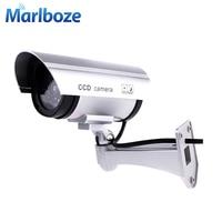 كاميرا وهمية وهمية مقاوم للماء كاميرا وهمية مصابيح مضيئة في الهواء الطلق كاميرا مراقبة CCTV كاميرا مراقبة للمنزل|كاميرات المراقبة|الأمن والحماية -