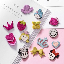 5pcs/Set Fashion Korean Baby Unicorn Hairpin Tiara New Duckbill Clip Hair Accessories