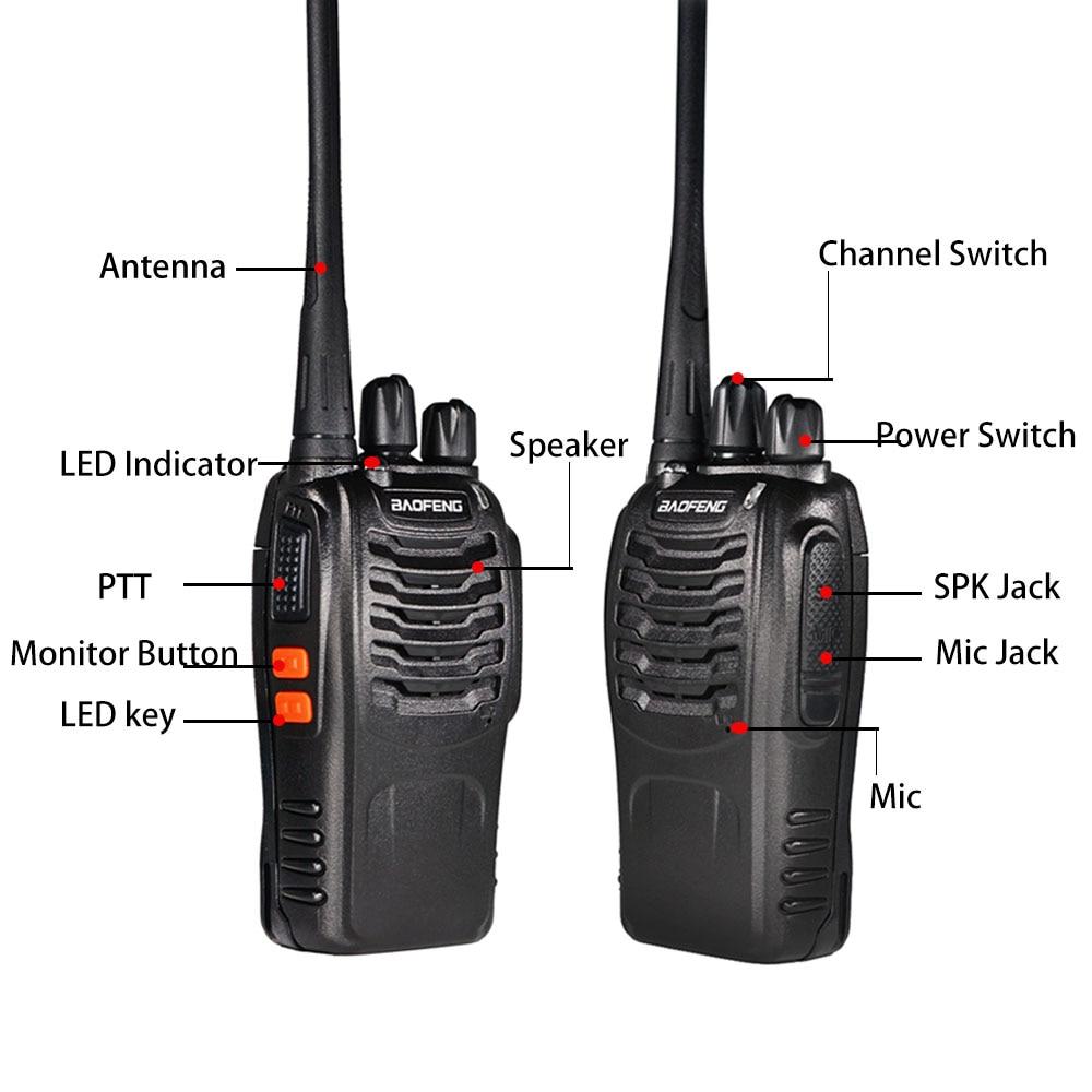 Talkie BF-888S 3pcs UHF