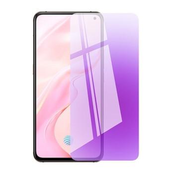 Перейти на Алиэкспресс и купить ДЛЯ VIVO X50 Lite X30 X27 Pro X23 защита для экрана из закаленного синего стекла X50lite X30Pro крышка для телефона, которая полностью закрывает переднюю часть...