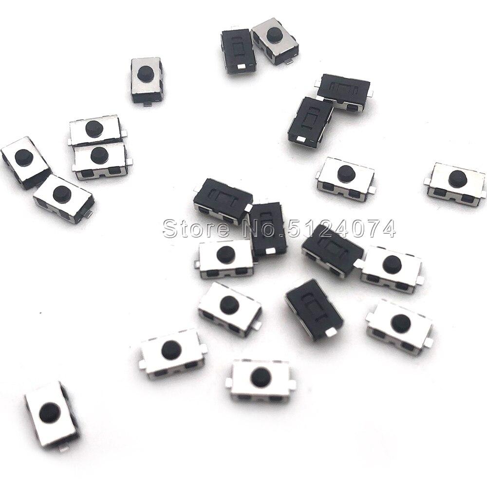 10 pçs/lote interruptor Normalmente fechado 4*6/3*6 SMD cola suave botão 3*6*2.5 MILÍMETROS interruptor leve toque