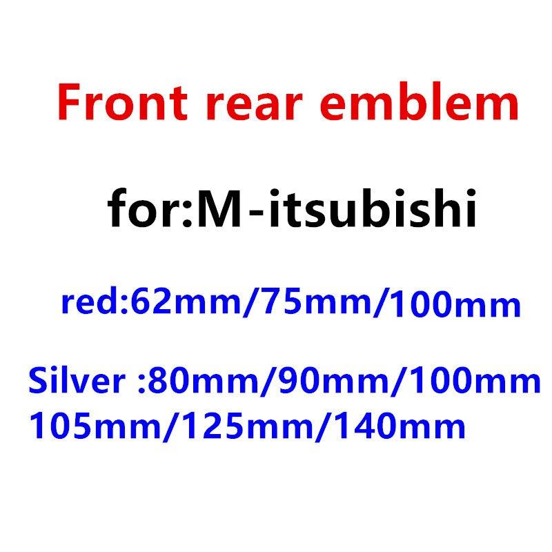 1 шт. ABS серебристый/Красный Автомобильный стикер на руль передний капот Гриль задний багажник значок эмблема наклейка Стайлинг