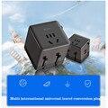 Конверсионный Штекерный разъем USB мульти Международный Универсальный переходник для путешествий