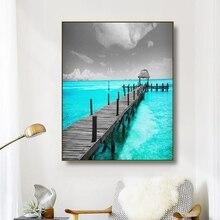Canvas Art Painting Azure…
