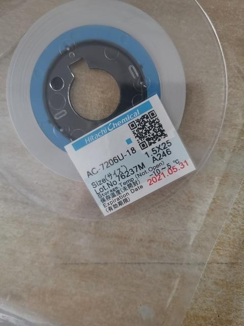ACF AC 7206U 18 BAND Für LCD Screen Reparatur 1,2/1,5/2,0mm * 10 m/25 m/ 50m