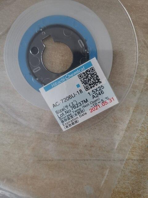 ACF AC 7206U 18 TAPE For LCD Screen Repair 1.2/1.5/2.0mm*10m/25m/50m