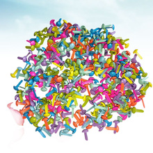 100 Pcs Mini Brads Assorted Colors Round Brad Pastel Brads for Scrapbooking Crafts Making Stamping and DIY - 8x20mm