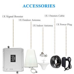 Image 5 - Lintratek إشارة الداعم 2G 3G 4G LTE 1800mhz 2100mhz 900mhz GSM DCS WCDMA ثلاثي الفرقة الخلوية مكرر إشارة LCD الجيل الثالث 3G 4G مكبر للصوت