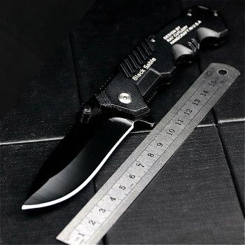 RS Folding Knife Tactical Survival Knives Hunting Camping Edc Multi High Hardness 3Cr13 Military Survival Outdoor Knife 2