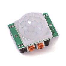 1pcs/lot HC-SR501 Adjust IR Pyroelectric Infrared PIR Motion Sensor Detector Module