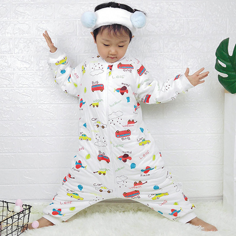 Baby Sleeping Bag Carriage Sack For Newborn Baby Animal Pattern Children Bed Play Split Leg Winter Anti Tipi Sleepsacks Warm