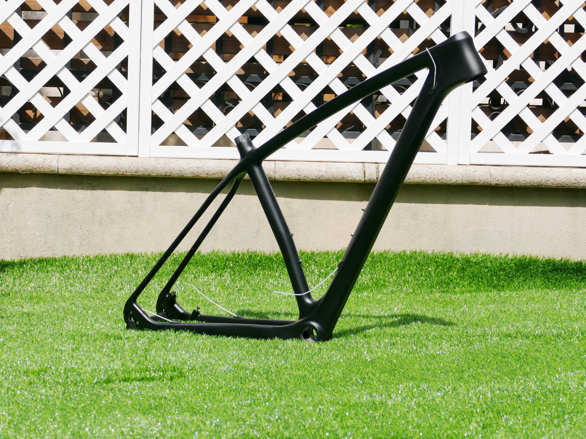 """Cadre de vélo nouveau plein carbone UD carbone mat 29ER VTT cadre vélo vélo vélo BSA 29er cadre 15 """"/17""""/19"""""""