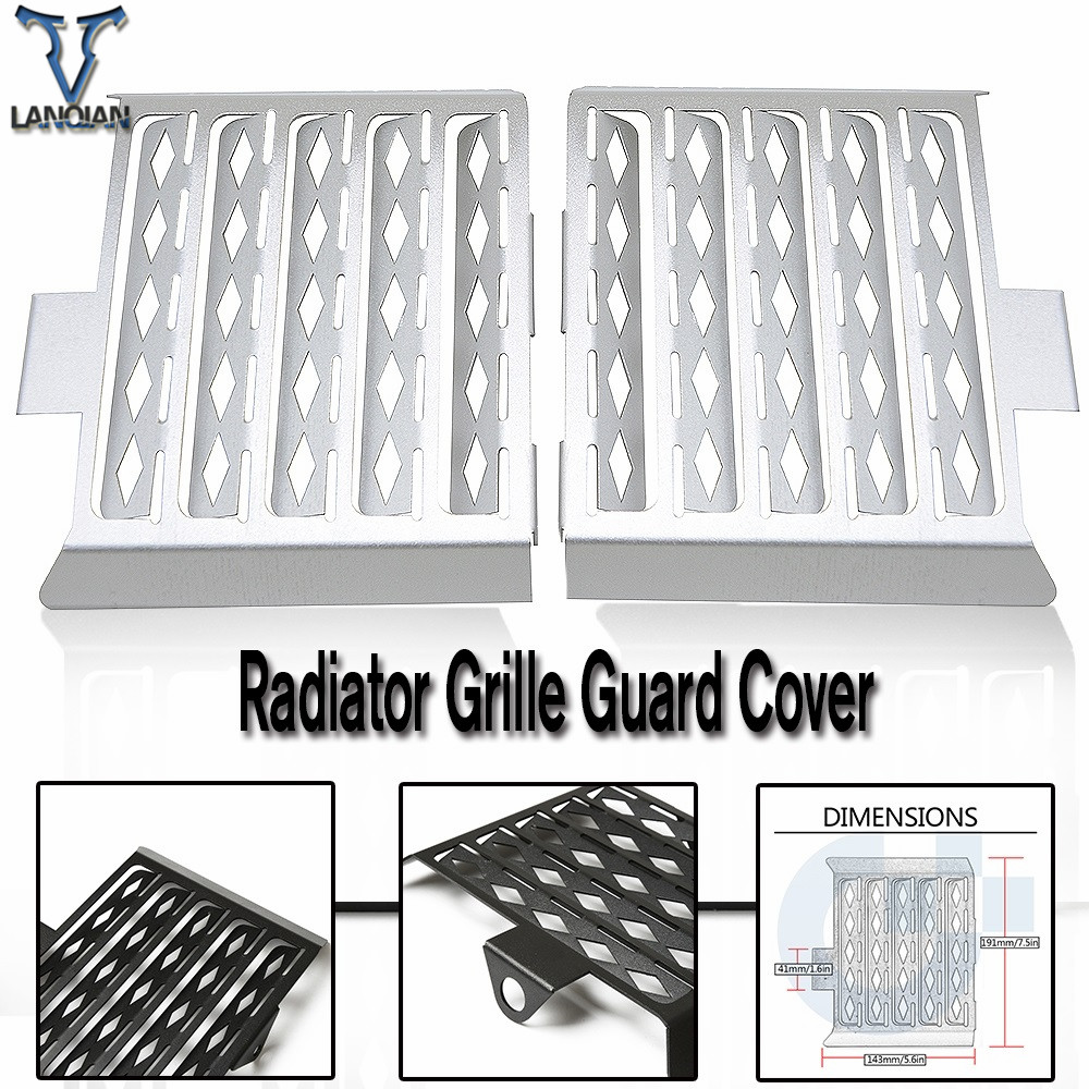 For BMW F650GS Single F650GS Dakar all years F 650 GS Single/Dakar Motorcycle Accessories Radiator Grille Guard Cover motorbike
