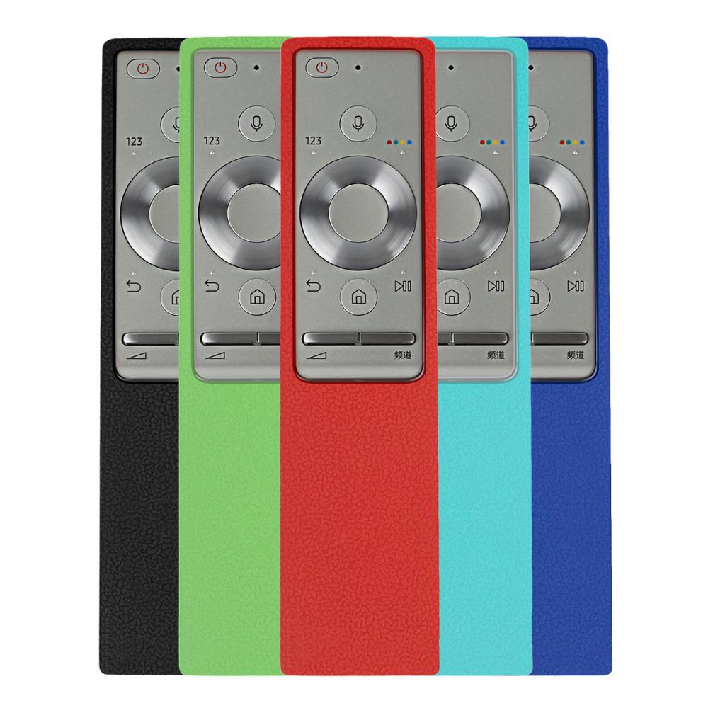 Para Samsung QLED TV Control remoto Bluetooth BN59-01272A BN59-01265A BN59-01270A BN59-01291A caso a prueba de golpes a prueba Anti-Slip 220V RGB controlador Bluetooth LED tira de Control para teléfono Bluetooth APP Remote Control RGB 5050 LED tira de Control