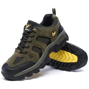Image 5 - Hommes femmes Sports de plein air randonnée chaussures escalade Trekking chaussures Pro montagne espadrilles décontractées marche usure résistant bottes