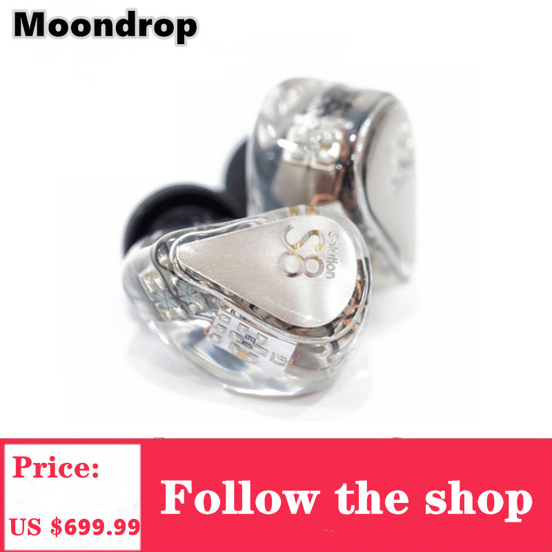Moondrop S8 Headphone New Generation 8BA In Ear Monitor Earphone With <font><b>0.78</b></font>-<font><b>2Pin</b></font> Universal Connector <font><b>Cable</b></font> For Phones image