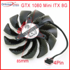 משלוח חינם PLD09210S12HH DC12V 0.40A 85mm 40*40*40mm VGA מאוורר עבור Gigabyte GTX 1080 מיני ITX 8G כרטיס מסך קירור מאוורר 4Pin