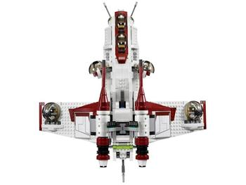 05041 Star Wars on Toy Republic Gunship Set StarWars with Lepining 75021 Ship for children Educational Blocks toys 2