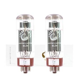 Image 2 - PSVANE HIFI EL34 Vacuum Tube Replace 6CA7 EL34 For Hifi Audio Vintage Tube Amplifier DIY Factory Test&Match