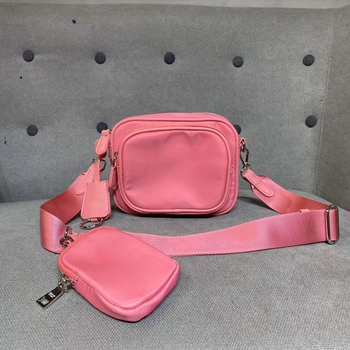 2020 Summer Vacation Phone Bag Solid Simple Design High Quality luxury brand women bag Drawstring Mini Bag