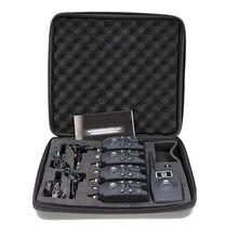 Lixada Беспроводная цифросветодиодный Светодиодная Сигнализация для рыбалки комплект 4 сигнала поклевки + 1 приемник с ЖК-дисплеем индикатор + ...