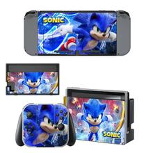 Sticker Skin Switch Controller Sonic Nintendo Joy-Con Screen-Protector Console Vinyl