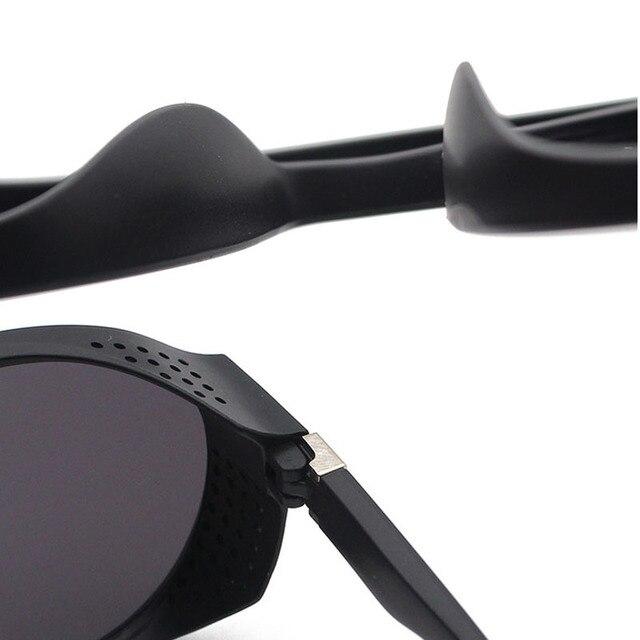 RBRARE-Gafas De Sol clásicas Steampunk para hombre, lentes De Sol De diseñador De marca De lujo para hombre, anteojos De Sol Vintage para conducir al aire libre para Mujer 5