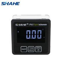 Shahe – rapporteur numérique de précision, inclinomètre, boîte de niveau, détecteur d'angle numérique, boîte biseautée avec Base magnétique, rapporteur numérique