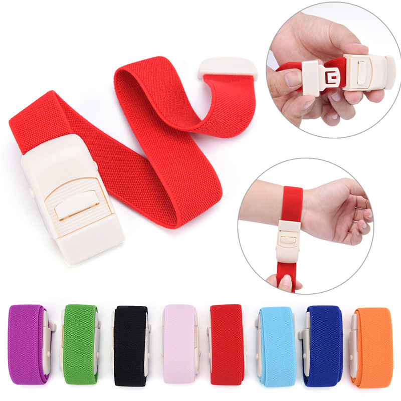 1pcs Medical Tourniquet Fast Release Slow Paramedic Doctor EMERGENCY SPORTS Turnstile Buckle Outdoor Hemostatic Elastic Strap