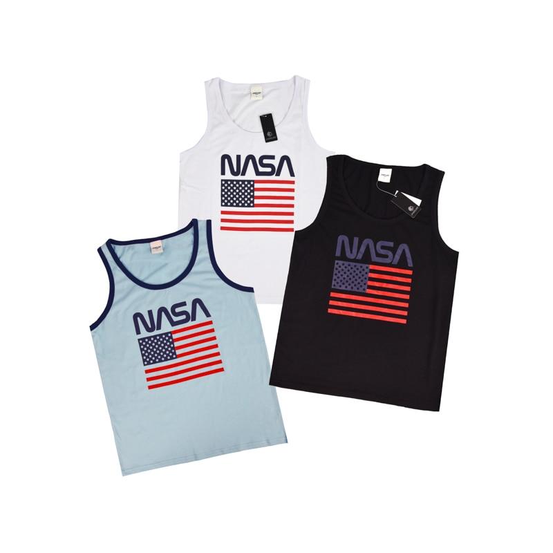 Men's black white blue surf tank JAMSURF Europe beach gym fitness youth singlet USA flag print homme street jersey  workout vest