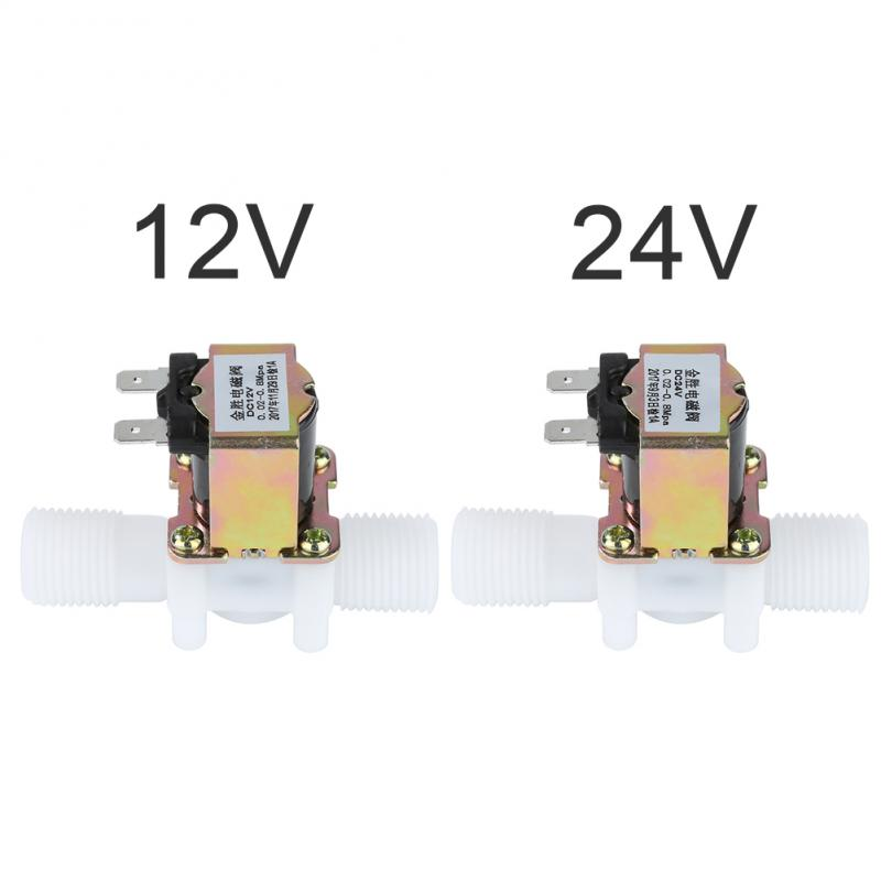 12V/24V PA Electric Solenoid Valve Magnetic Water Air Normally Closed 0-0.8 MPA Nominal Pressure