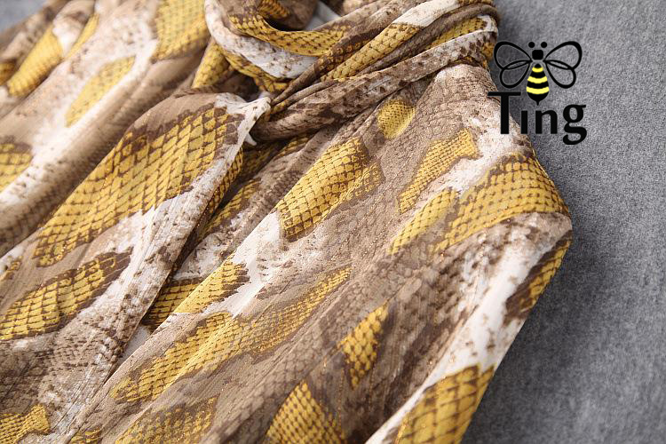 Tingfly 2020 designer leopardo serpentina pring vestidos de festa vintage senhora elegante assimétrica hem midi vestido casual plus size 3xl - 6