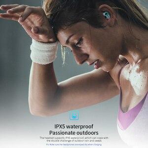Image 2 - 6000 バッテリー充電ケースワイヤレス Bluetooth 5.0 イヤホン HD ステレオヘッドフォンスポーツ防水ヘッドセットとデュアルマイク