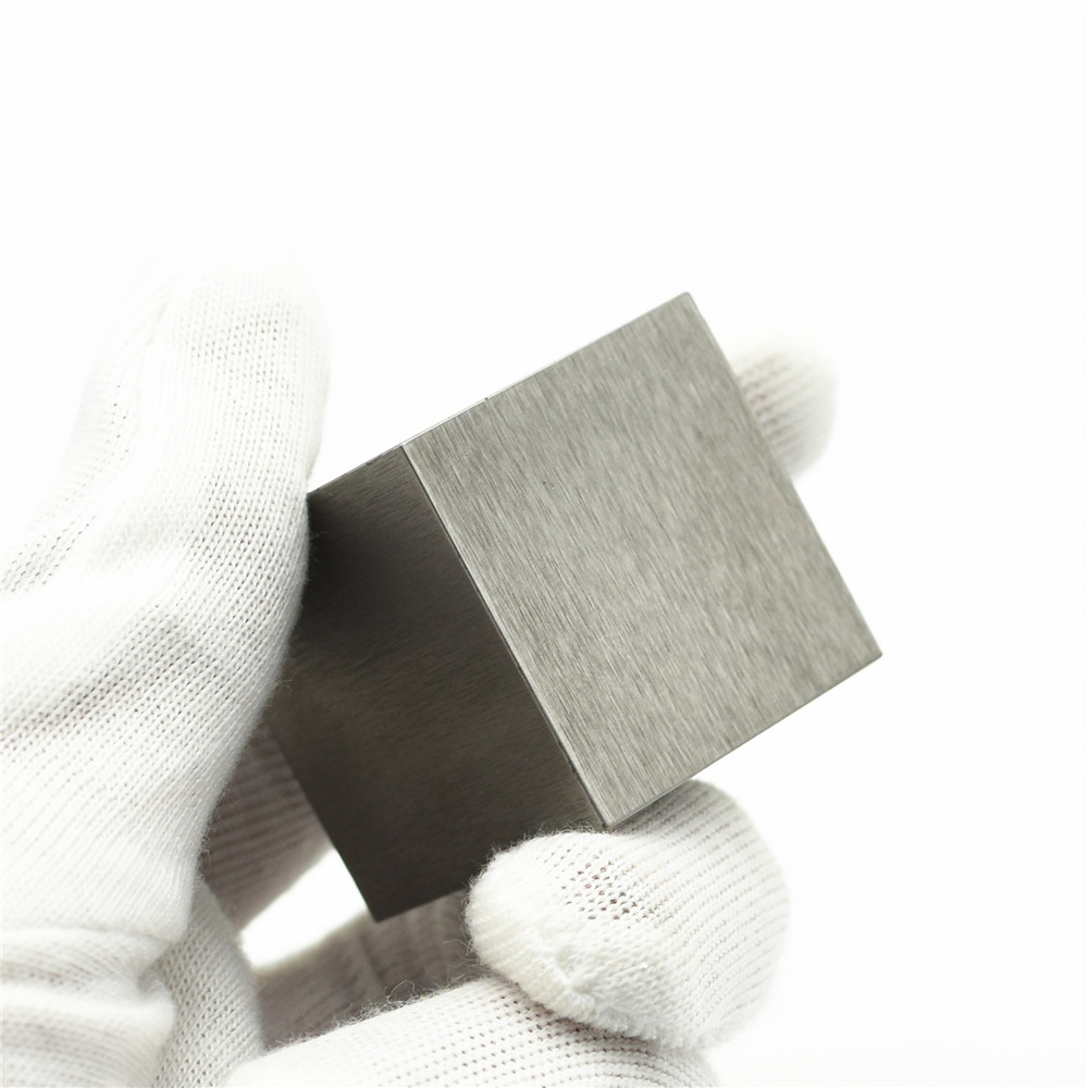 5N High Purity Tungsten Wolfram Cube W Block 99.999% Research Development Element Metal Simple Substance Hard Sharp Metal 38MM