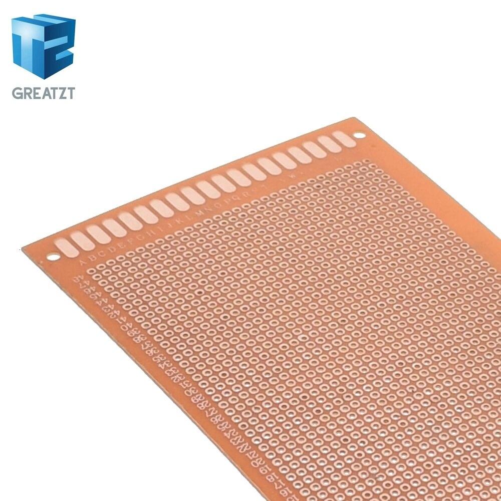 9x15 9*15 см Односторонний Прототип PCB универсальная плата экспериментальная бакелитовая медная пластина схема плата желтый