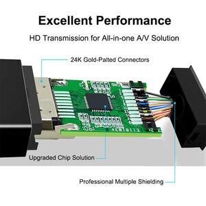 Mini Display port To HDMI кабель 4k 1080P ТВ проектор Projetor DP 1,4 Display Port конвертер для Mac Mini Apple Macbook Air Pro