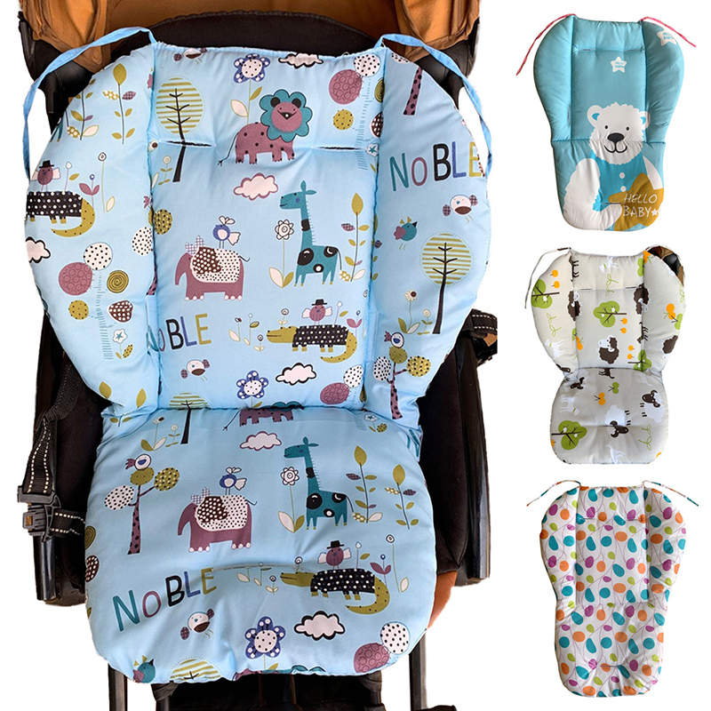 Baby Kids Highchair Booster Seats Cushion Pad Mat Feeding Pad Mat Cushion Chair Cushion Pad Stroller Cushion Mat