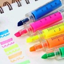 5 шт пластиковый случайного цвета маркер ручка Школа Офис медсестры доктор студент Новинка рождественские подарки на вечеринку ручная роспись
