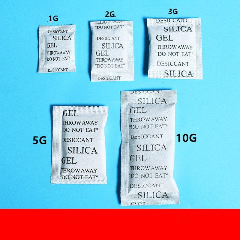 100 Pcs силикагель нетоксичный осушитель поглотитель влаги адсорбер осушитель пакетики осушитель мешки Drypack поставка сушилки