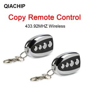Image 1 - QACHIP โลหะ Clone รีโมท 433.92MHZ สำเนารีโมทคอนโทรลอัตโนมัติ Copy Duplicator สำหรับ Gadgets รถบ้านโรงรถประตูคุณภาพสูง