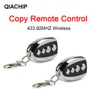 Image 2 - QIACHIP 433.92 MHz ABCD style Wireless Auto Remote Control Duplicator Adjustable Frequency Gate 433 MHz Copy Remote Controller