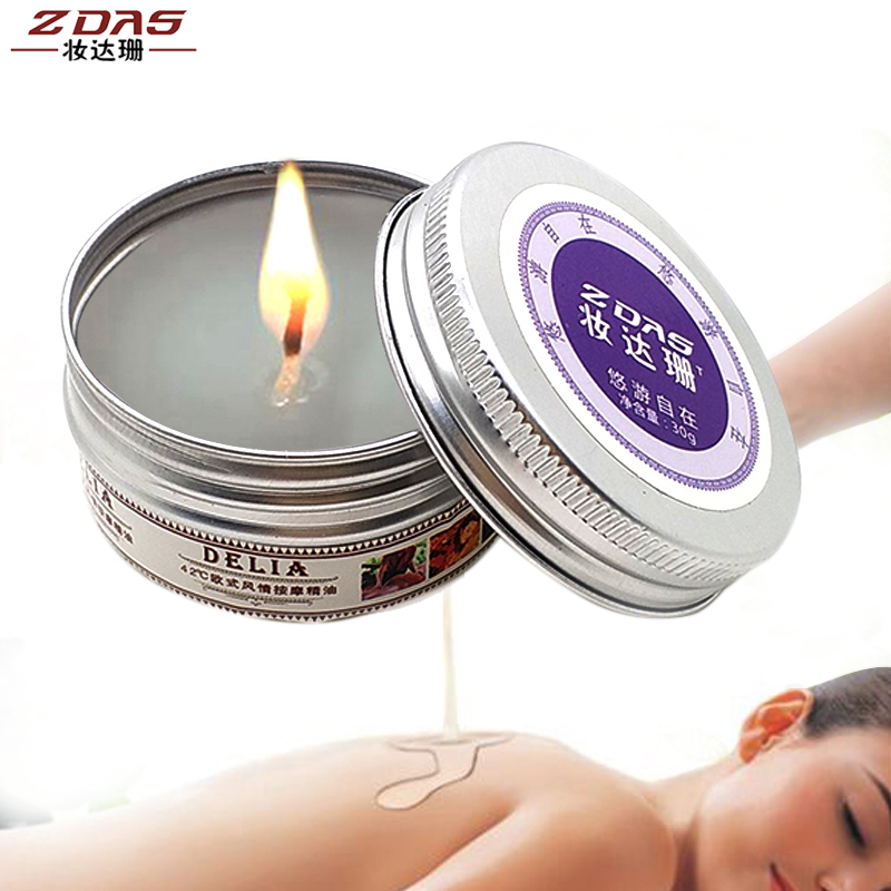 Low Temperature Solid Oil Fun Candles Aromatherapy Candles Massage Candles Flirting Lighting Aphrodisiac Rose Queen Excited