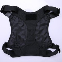 1 pc Large Dog Clothes  Vest With 3 MOLLE Bag Pet Jungle Protective Clothing Outdoor Tactical D4