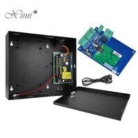 L01 Um Painel de Controle de Acesso Porta Wiegand TCP Placa de Controle De Sistema de Controle de Acesso Com Caixa de Alimentação Com a Função Da Bateria|access control board|ip door access|access control panel -