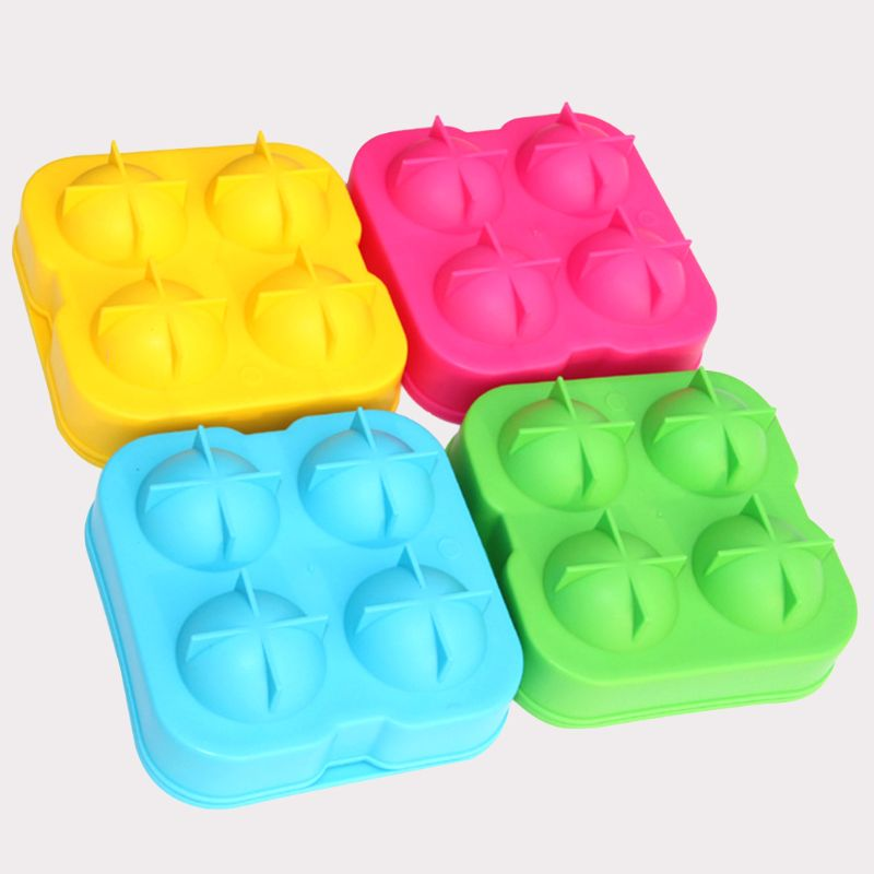 Whiskey Ice Cube Ball Maker Mold Mould Brick Round Bar Accessiories High Quality Random Color