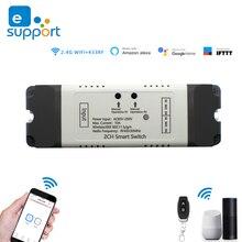 DC 12V 24V AC 220V Wifi ממסר מודול עבור eWeLink APP שלט עצמי מנעול אלחוטי עיכוב ממסר עבור בית חכם חכם