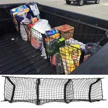 Автомобильный органайзер, Задняя сумка для хранения грузовиков, багажные сети, крючок, мусорная сетка для Ford F150 F650 Atlas, аксессуары для суперг...